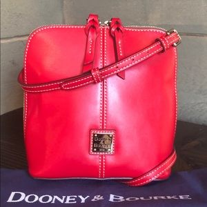 NWT Dooney & Bourke Trixie Crossbody in Red